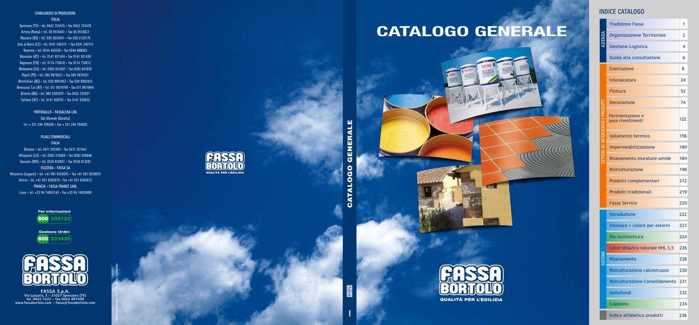 Catalogo Prodotti Fassa Bortolo By Caracolisrl Caracolisrl Issuu