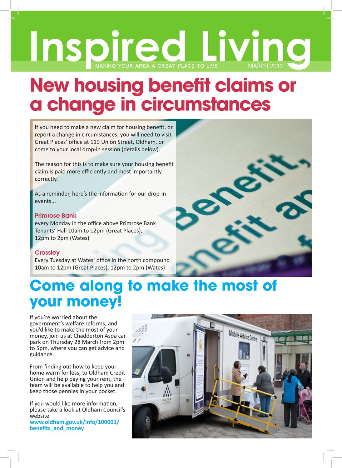 Inspired Living March 2013 By Great Places Housing Group