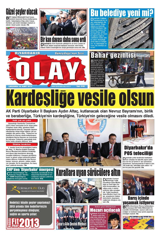 20 03 2013 Gazete Sayfalari By Diyarbakir Olaygazetesi Issuu