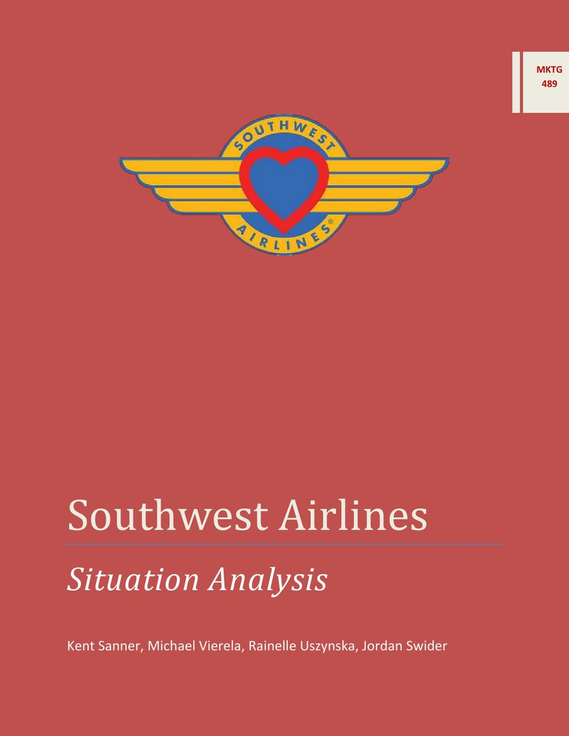 external environment of southwest airlines At southwest airlines, we are committed to conservation and mitigation of our  environmental impacts with efficiency as a core element of our business and.
