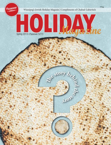 Passover Magazine, 5773 by Shmuly Altein - issuu