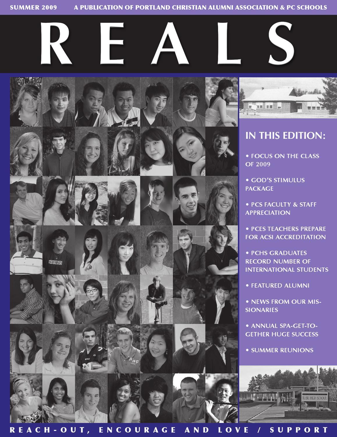 2009 Summer REALS by Portland Christian Schools - issuu