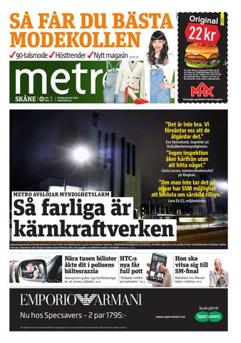 new photos 8c479 e3f00 20130320 se malmo by Metro Sweden - issuu
