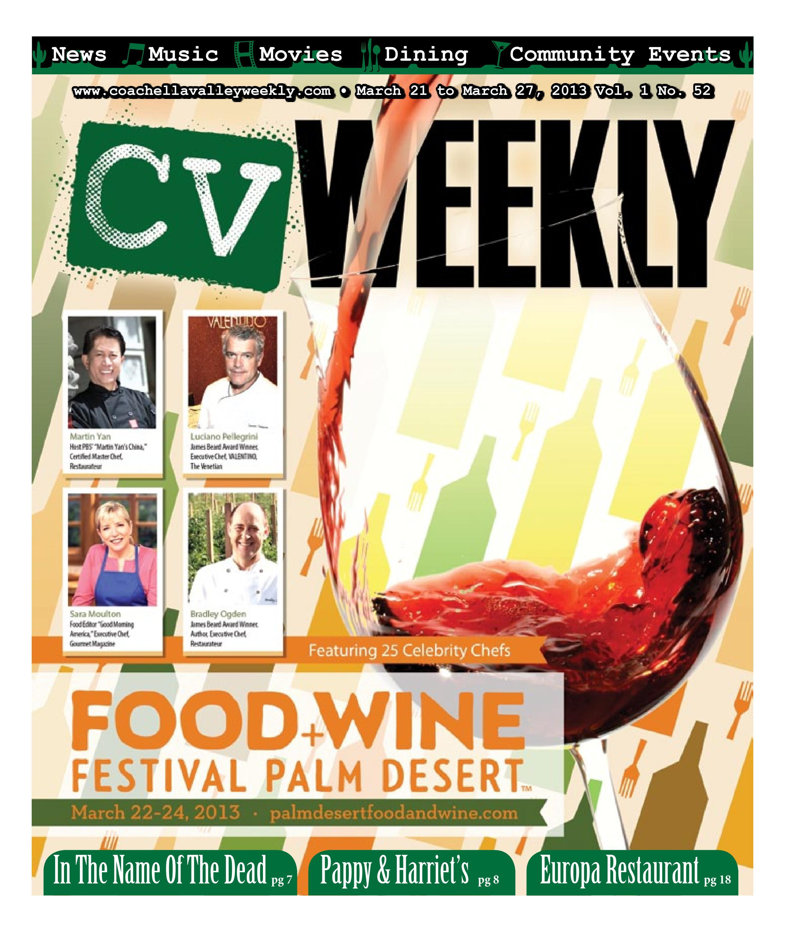 March 21 to March 27, 2013 Vol  1 No  52 by CV Weekly - issuu