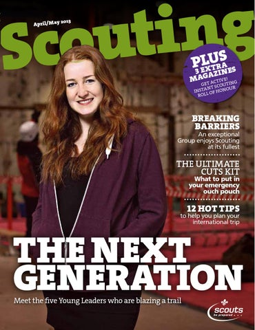 Scouting April/May 2013 by The Scout Association - issuu