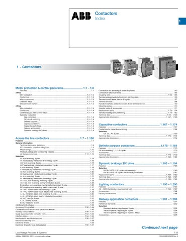 abb contactori by ORION GRUP - issuu on
