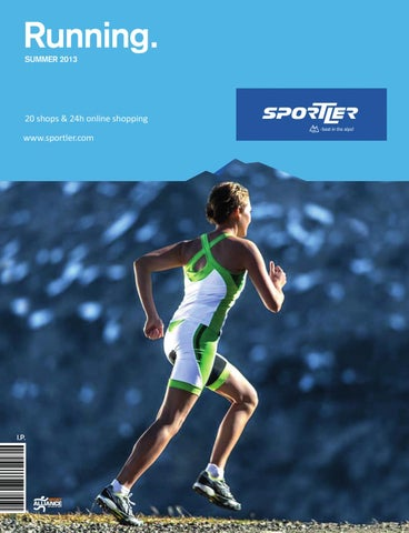hot sales 918e8 8b879 SPORTLER Running Catalog 2013 by SPORTLER - issuu