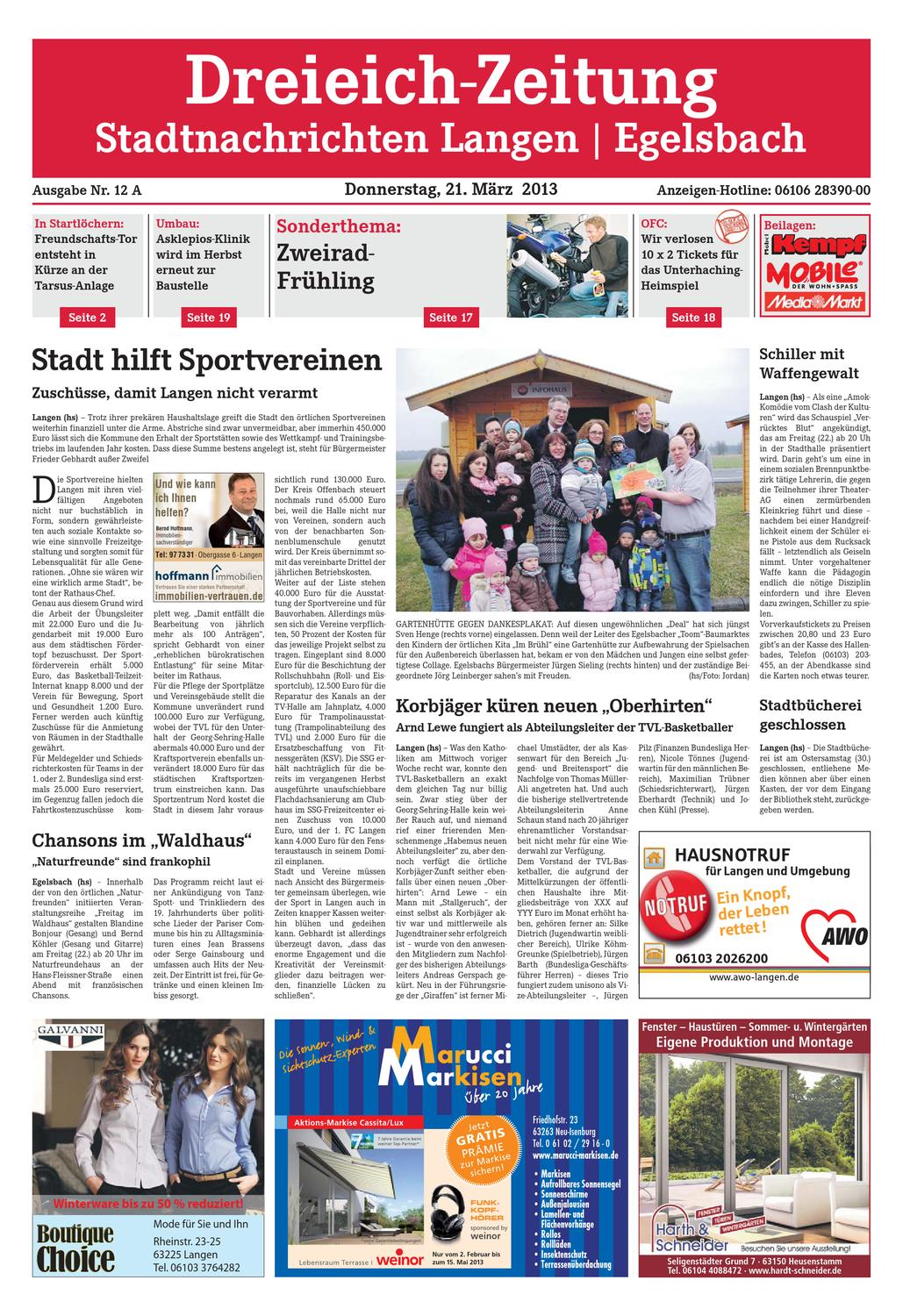 DZ_Online_012_13_A by Dreieich-Zeitung/Offenbach-Journal - issuu
