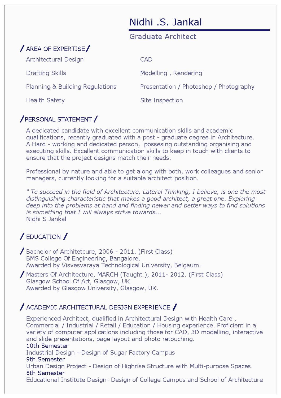 resume by nidhi jankal