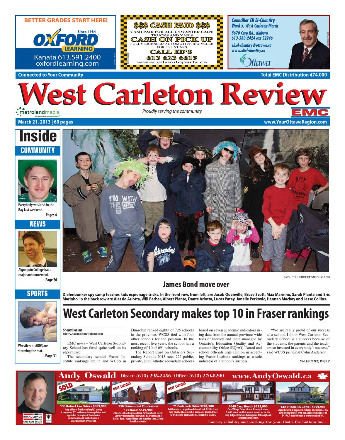 West Carleton Review By Metroland East West Carleton