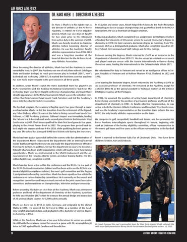 43d6ff96 2013 Air Force Women's Gymnastics Media Guide by Air Force Sports ...