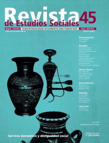 Revista de Estudios Sociales No 45 by Universidad de los Andes - issuu ed363429b6e35