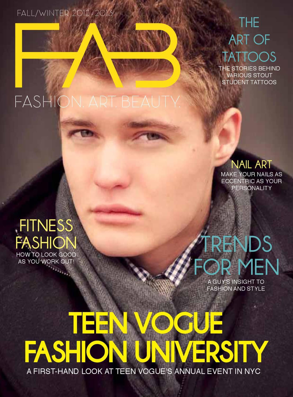 f923411164 F/W 2012 FAB Magazine by Fashion, Art, and Beauty Magazine - issuu
