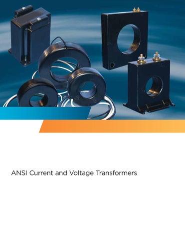 467-480 Process Measurement Potential Transformer