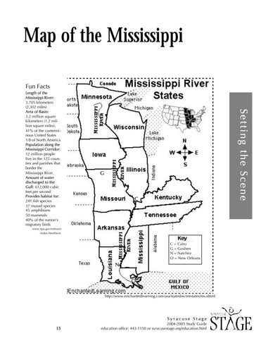 Big River-The Adventures of Huckleberry Finn by Syracuse Stage - issuu