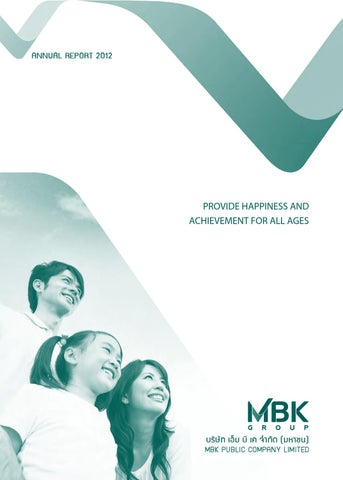 MBK  Annual Report 2011 2012 by Surachet Fungwatthananon - issuu 0db95ce4f448c