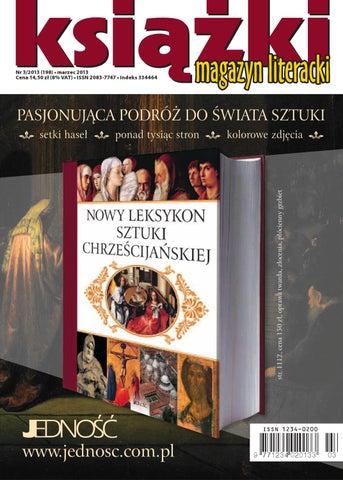 2ed62e3b7b Magazyn Literacki KSIĄŻKI 3 2013 by Biblioteka Analiz Magazyn ...