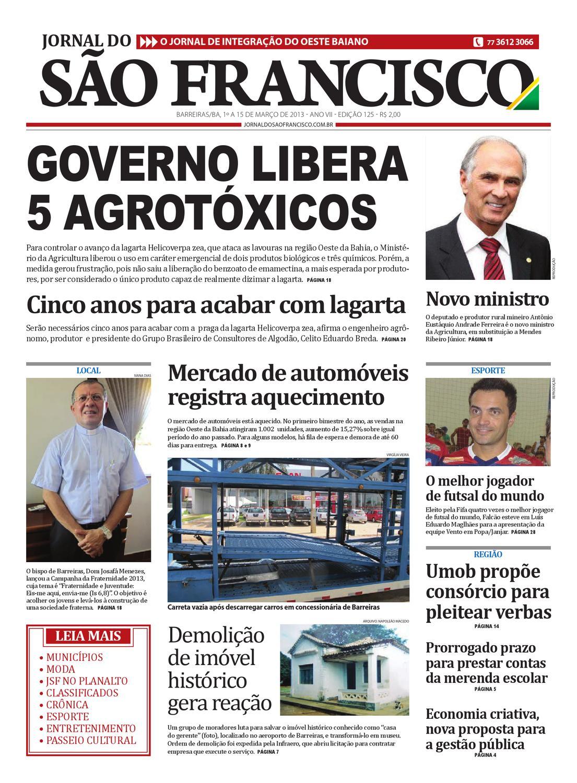7469be8c98d Jornal do São Francisco - Edição 125 by Jornal Sao Francisco - issuu