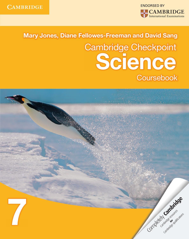 Cambridge Checkpoint Science Coursebook 7 by Cambridge University ...