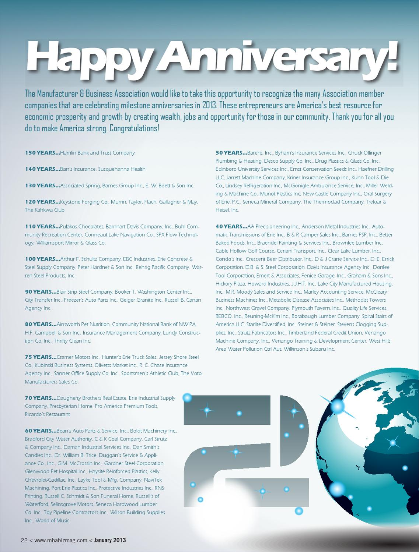 January 2013 Business Magazine By MBA Business Magazine   Issuu