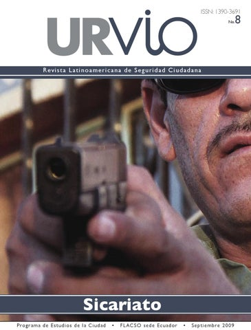 Revista Urvio No 8 Sicariato By Santiago Avila Issuu