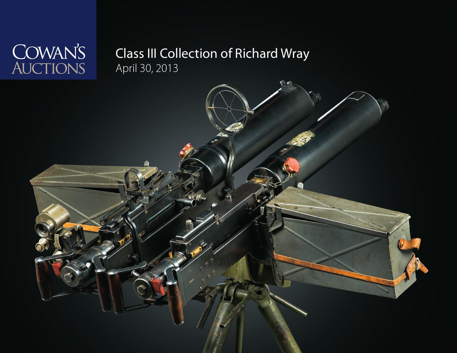 Class III Collection of Richard Wray by Cowan's Auctions - issuu