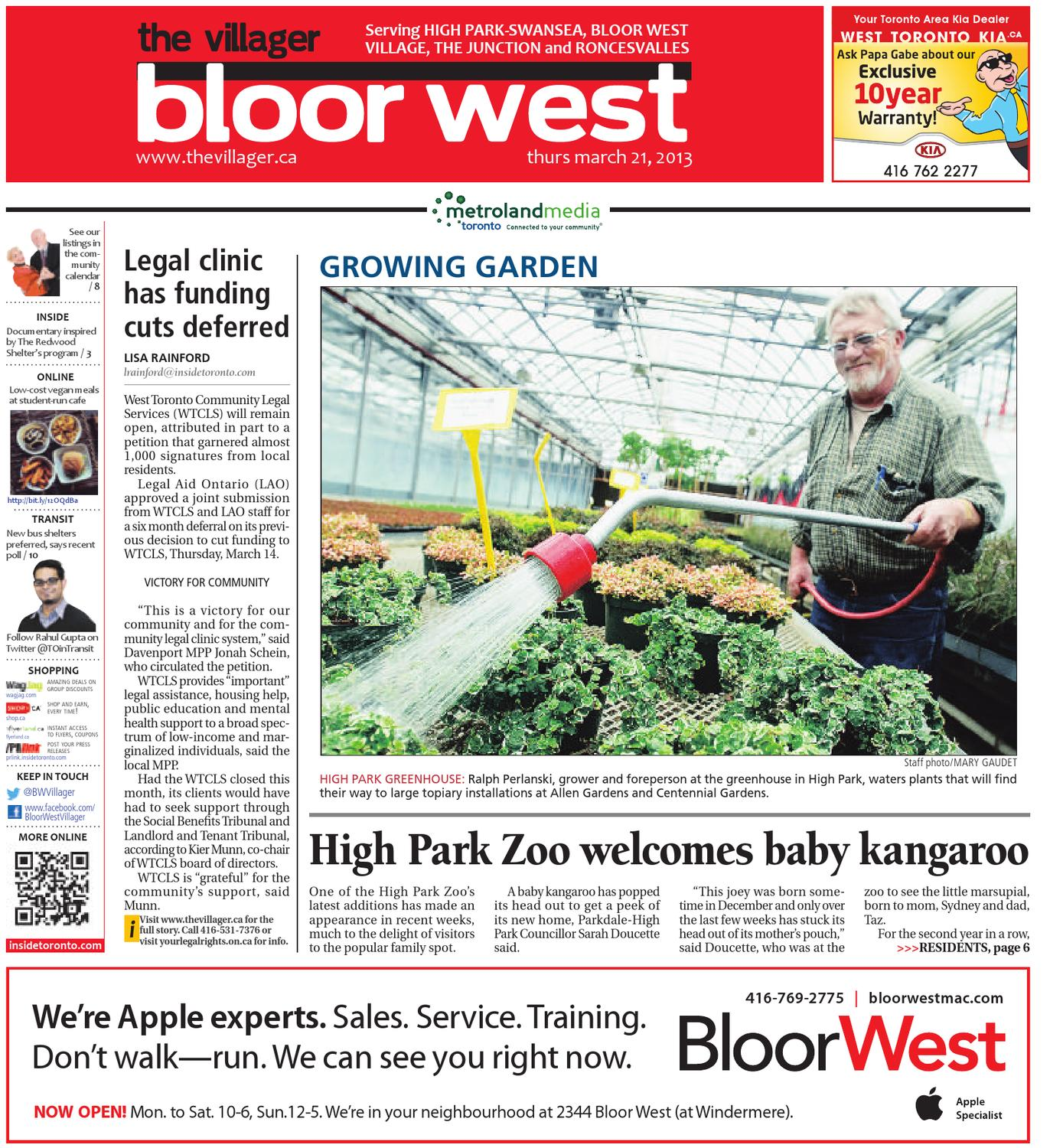 March 21 by The Bloor West Villager - issuu