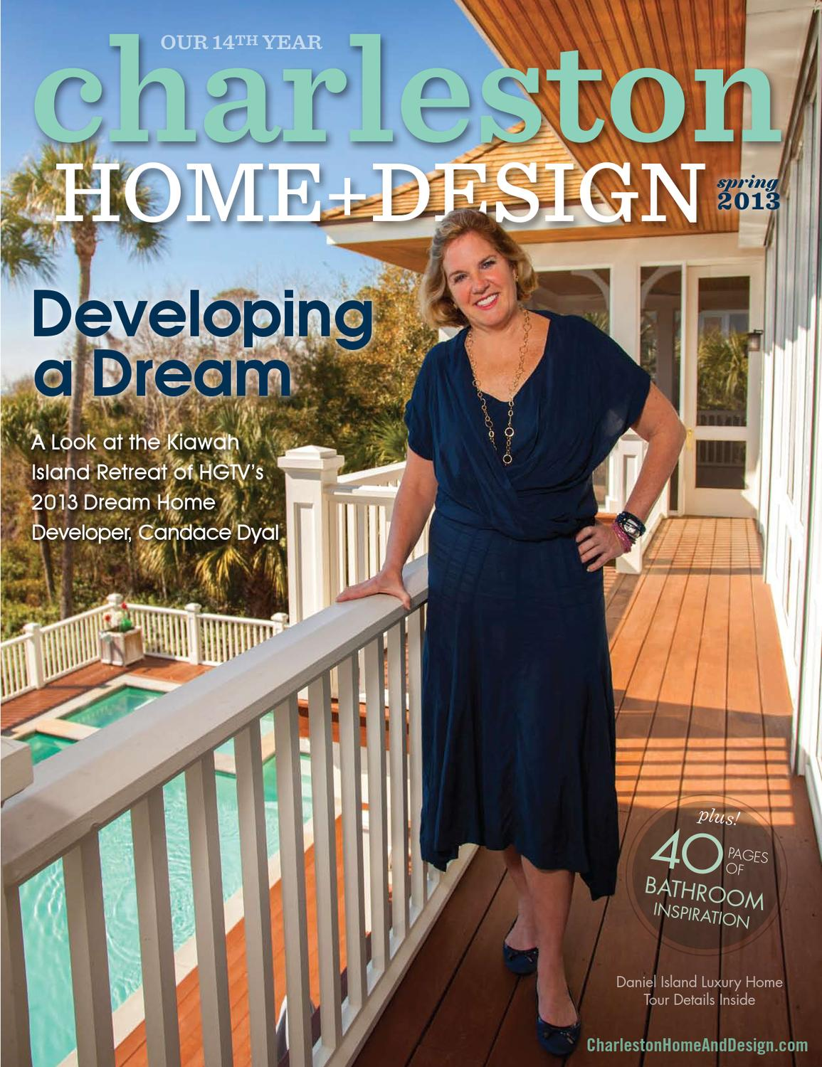 Charleston Home Design Magazine Spring  By Charleston Home - Charleston home design
