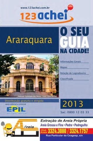 Caro Leitor, É com muita alegria que entregamos mais uma edição do Guia  123achei, da cidade de Araraquara. Esta publicação tem o objetivo de  contribuir com ... caf1ada661