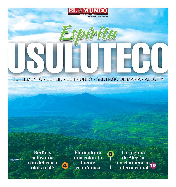 Suplemento Usuluteco By Diario El Mundo Issuu