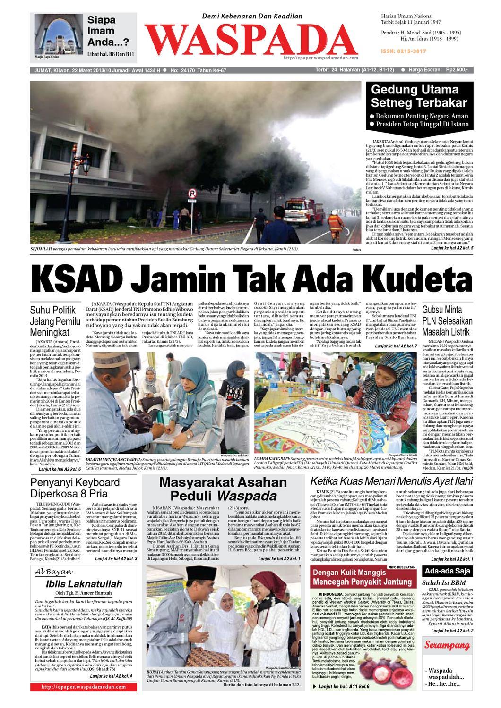 Waspada Jumat 22 Maret 2013 By Harian Waspada Issuu