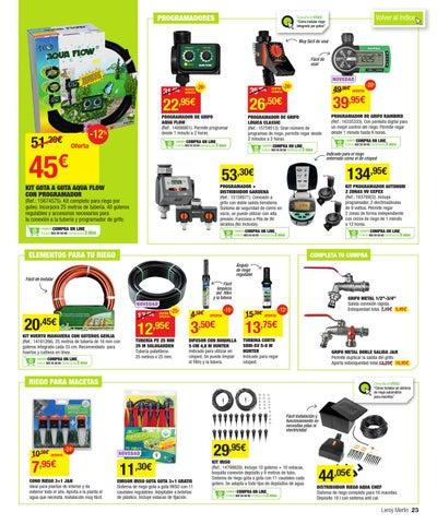 Catalogo de ofertas de leroy merlin primavera 2013 by issuu - Piscinas leroy merlin catalogo ...