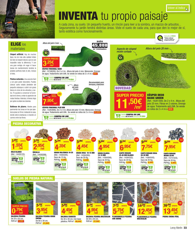 Catalogo de ofertas de leroy merlin primavera 2013 by for Ofertas leroy merlin