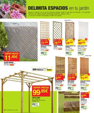 Catalogo de ofertas de leroy merlin primavera 2013 by - Celosia madera leroy merlin ...