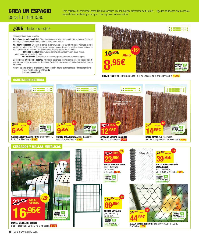 Catalogo de ofertas de leroy merlin primavera 2013 by for Canizo leroy merlin