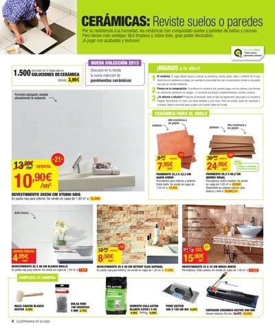 Catalogo de ofertas de leroy merlin primavera 2013 by issuu - Suelos leroy merlin catalogo ...