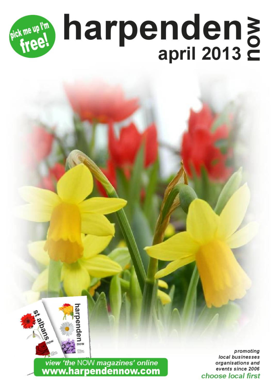Harpenden Now April 13 By Wendy Robertson Issuu