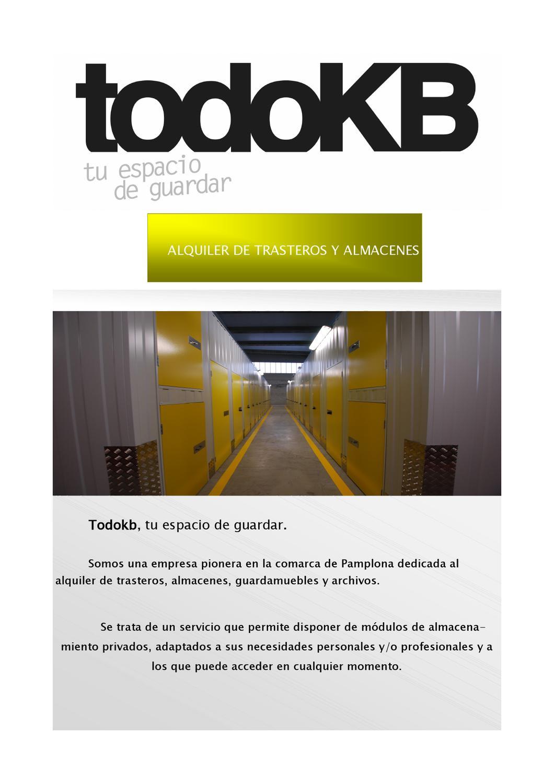 Informaci n todokb by todokb pamplona issuu - Empresas limpieza pamplona ...
