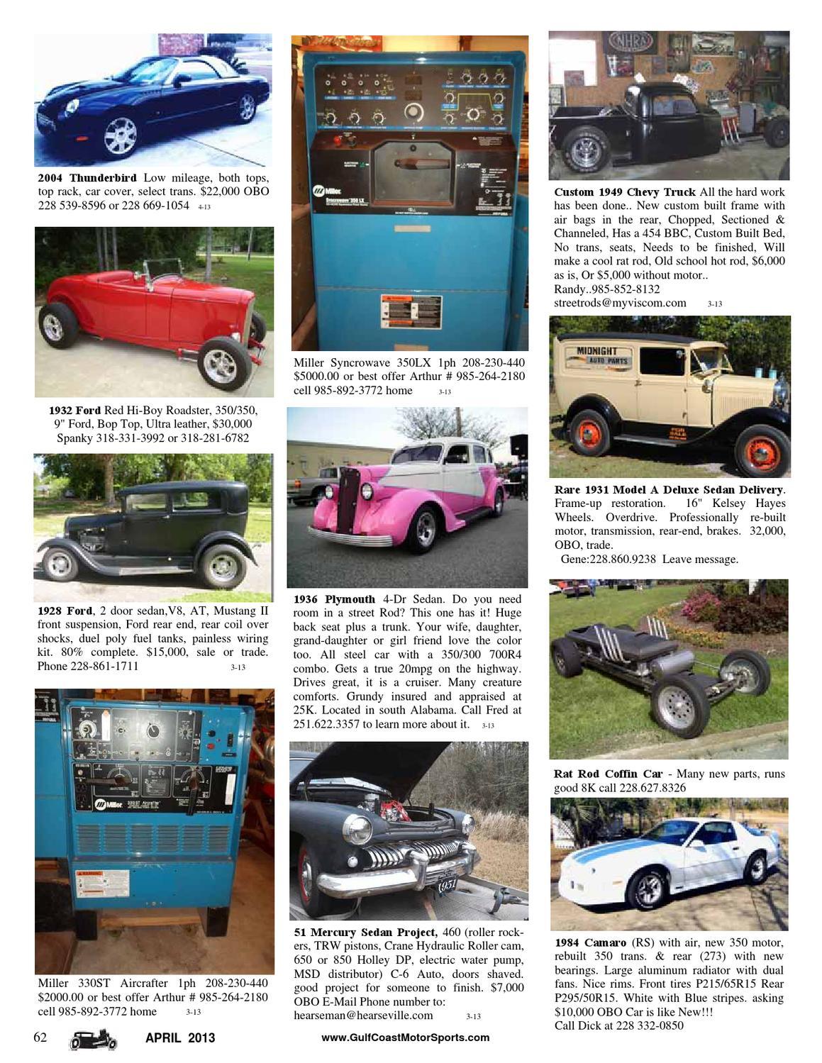 Gulf Coast Motorsports Magazine By Jimbo Perkins Issuu Hot Rod Wiring Kits