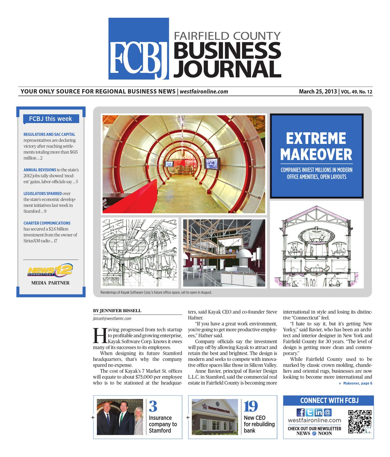 Fairfield County Business Journal - 032513 by Wag Magazine