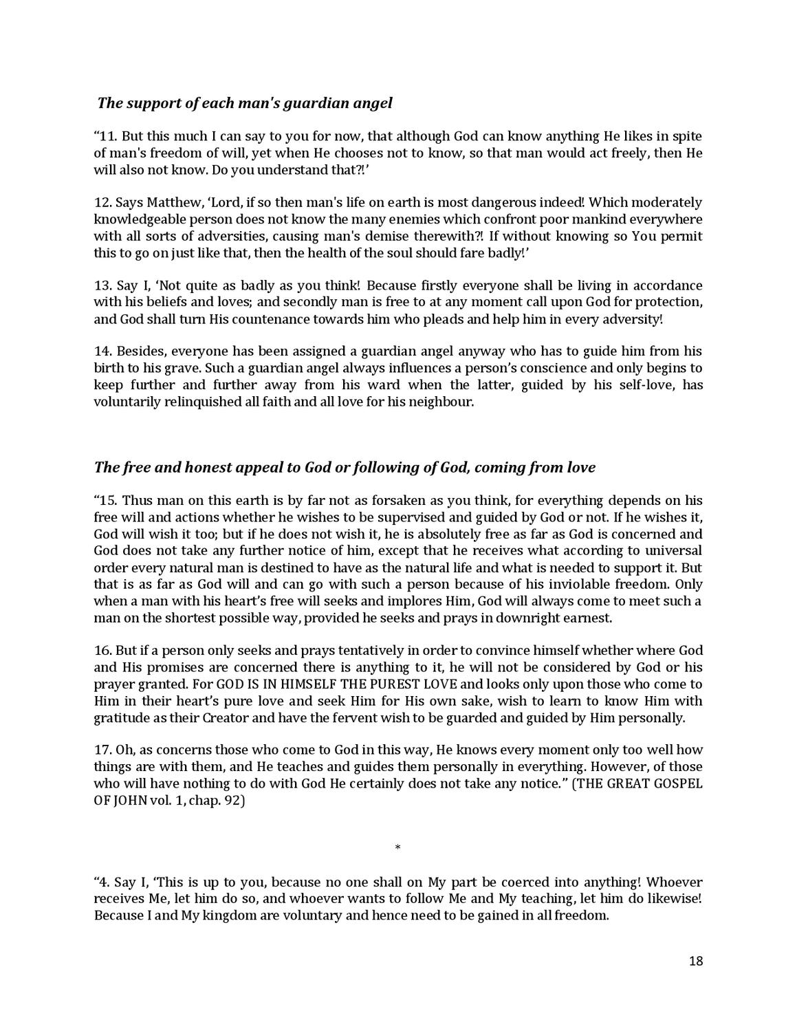 Brochure - NEW REVELATION - ABOUT INTELECT, CONSCIENCE AND FREE-WILL