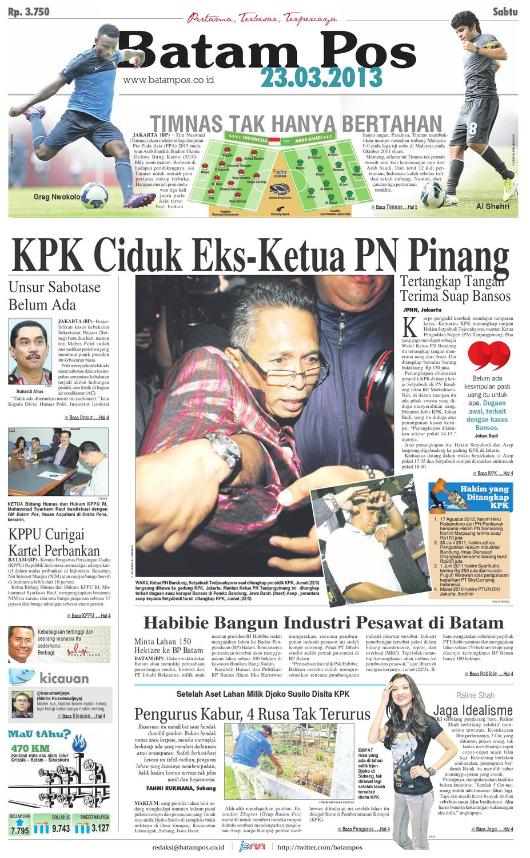 23 Maret 2013 By Batampos Newspaper Issuu Produk Ukm Bumn Brasso Metal Polish 200 Ml