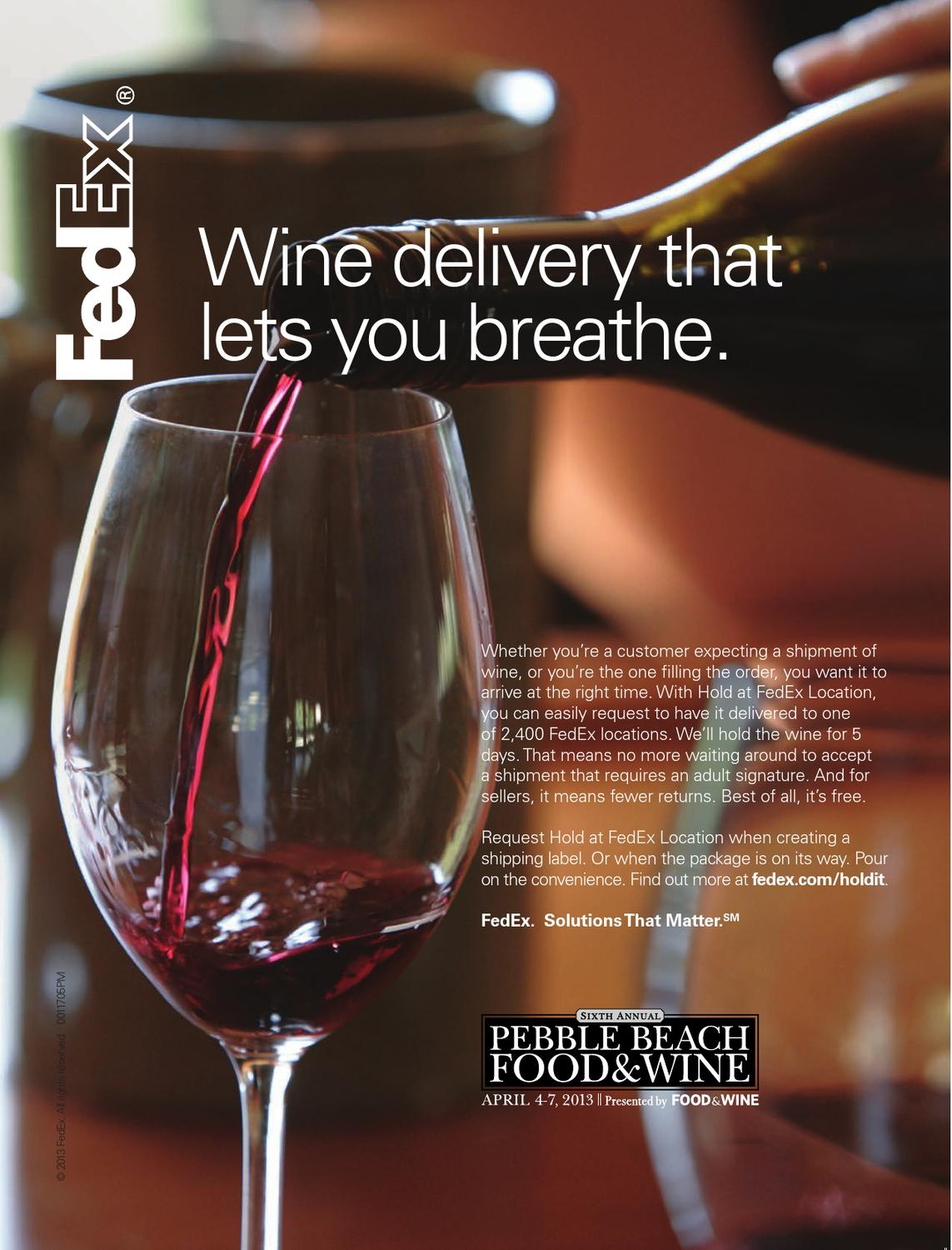 Pebble Beach Food & Wine - 2013 Epicure by CLM_MRY - issuu