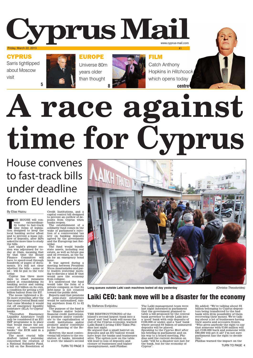 Cyprus Mail by Cyprus Mail Co Ltd - issuu