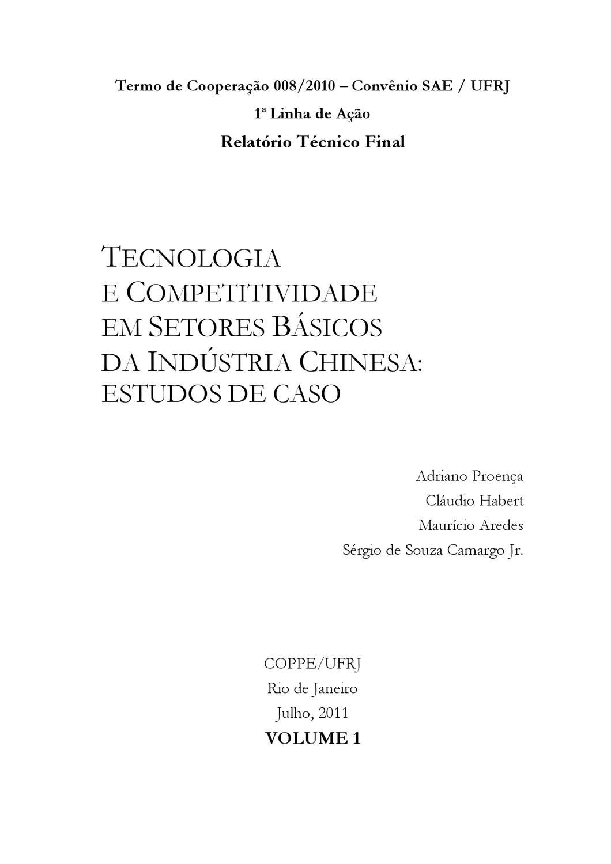 Relat%C3%B3rioFinalVolume1 by Secretaria de Assuntos Estratégicos PR - issuu 14a4458567