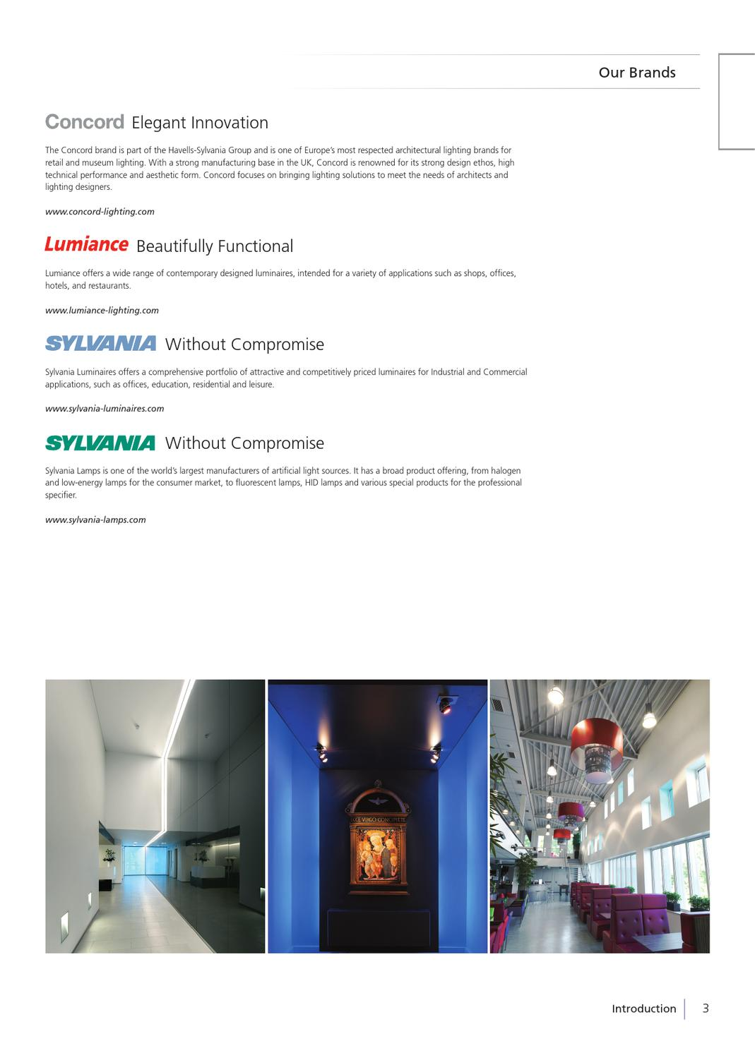Productos Sylvania 2017 By Havells Chile Issuu