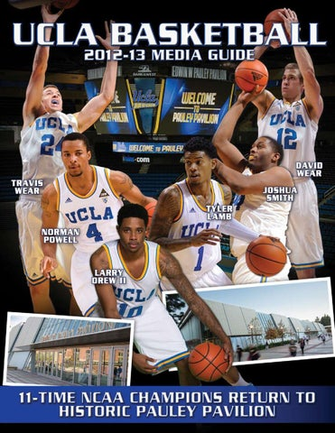 6ad380f6a 2012-13 UCLA Men s Basketball Media Guide by UCLA Athletics - issuu