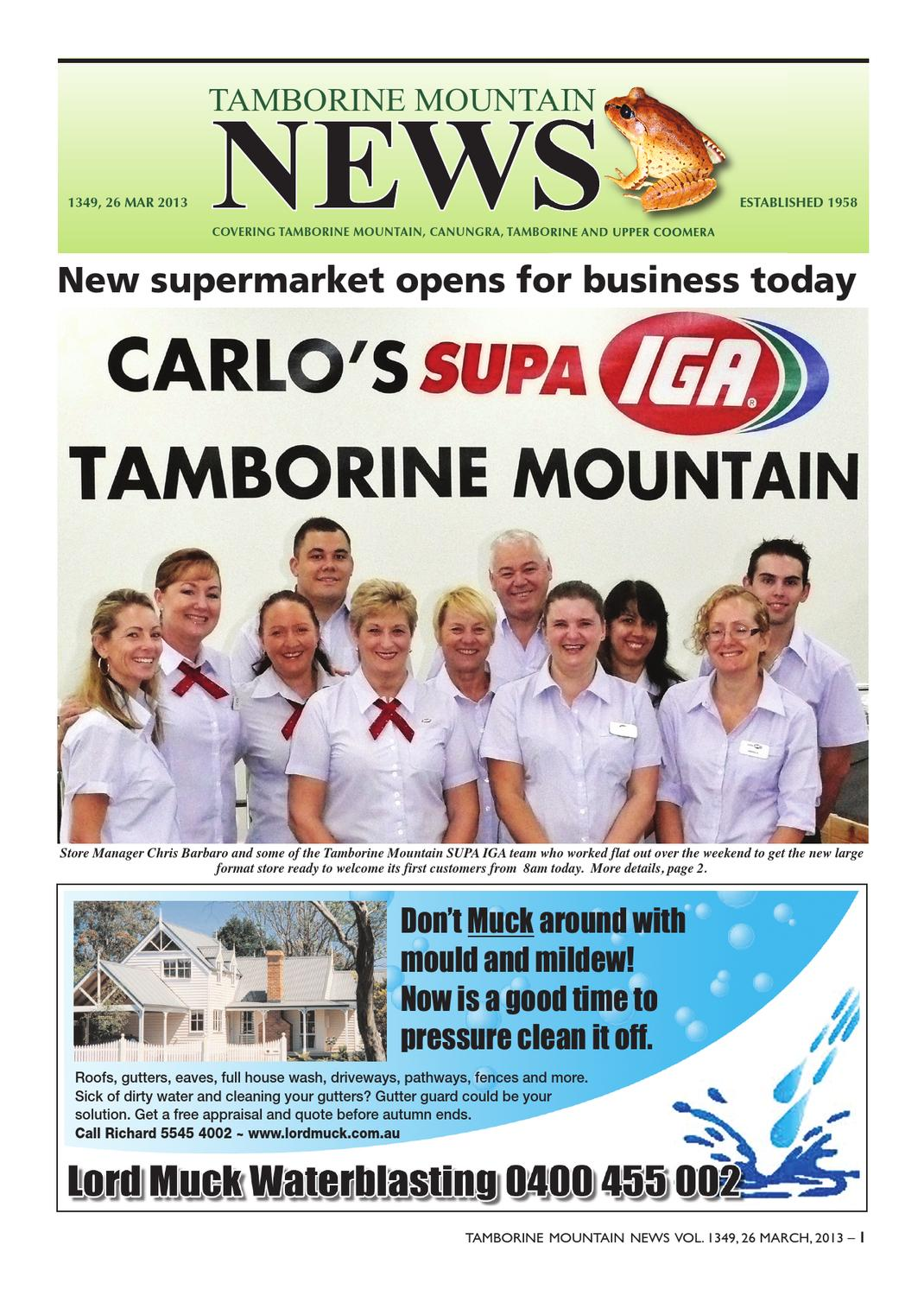Tamborine Mountain News By Tamborine Mountain News Issuu