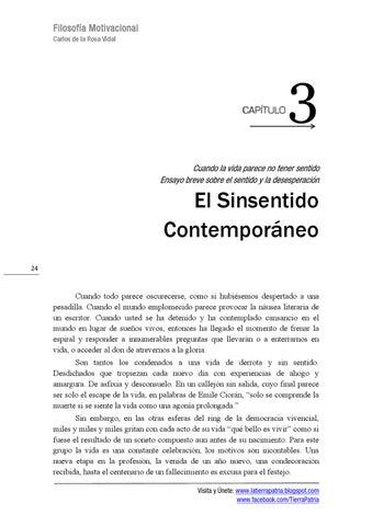 Carlos De La Rosa Vidal Filosofía Motivacional By Carlos