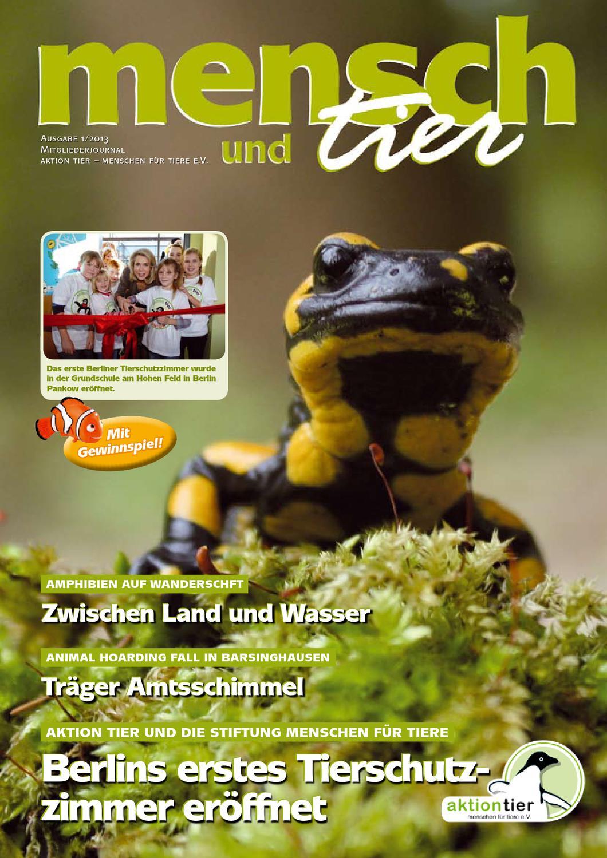 mensch & tier 01/2013 by aktion tier - issuu